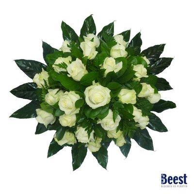 Biedermeier witte rozen