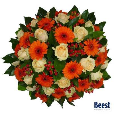 Biedermeier oranje