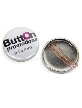 56mm Button met clip vanaf