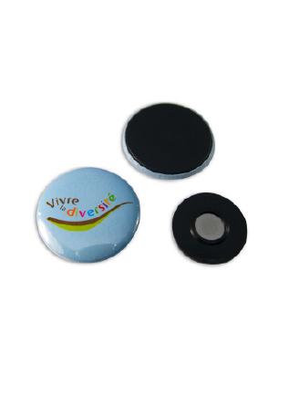 Kledingmagneet button 37 mm vanaf