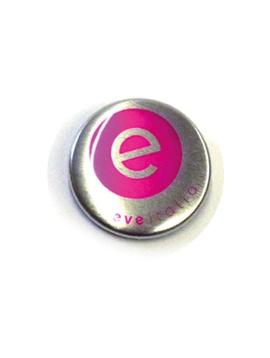 25 mm Button metaal effect vanaf