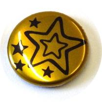 37mm button metaaleffect vanaf
