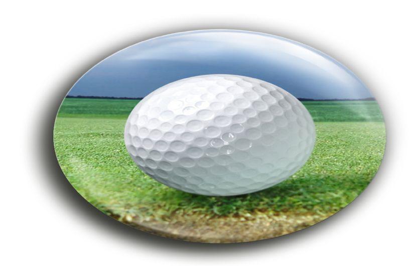 Ovale Button met Speld met uw eigen onwerp naar keuze