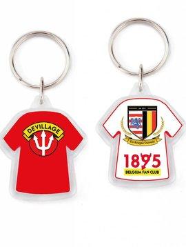 Acryl sleutelhanger T-shirt vanaf