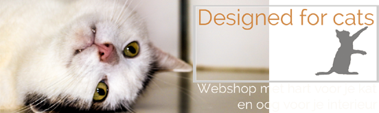 Designed for cats - Design kattenmeubels voor jou en je kat