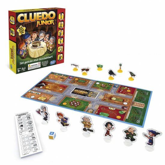 Hasbro Cluedo Junior Kinderspel