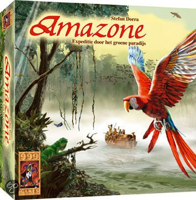 999 Games Amazone Logistiek Spel
