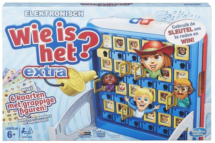 Hasbro Wie Is Het? Extra Kinderspel