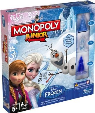Hasbro Monopoly Junior Disney Frozen Kinderspel