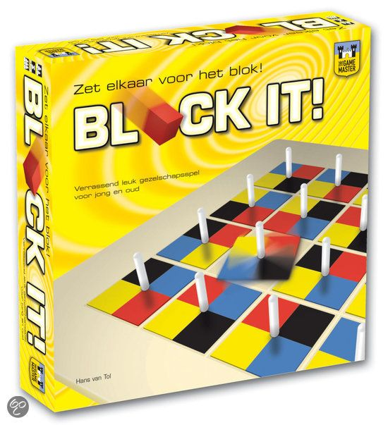 Overige Merken Block It ! Bordspel