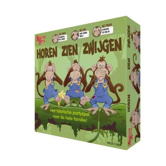 University Games Horen Zien En Zwijgen Bordspel