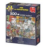 Jan van Haasteren Puzzels Jumbo Jan van Haasteren Snoepfabriek Legpuzzel 500 stukjes