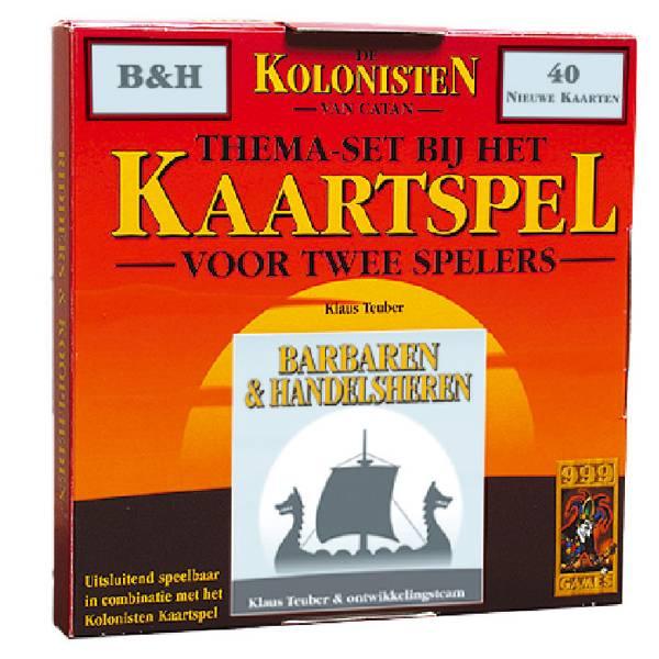999 Games De Kolonisten van Catan Het Kaartspel Barbaren en Handelsheren