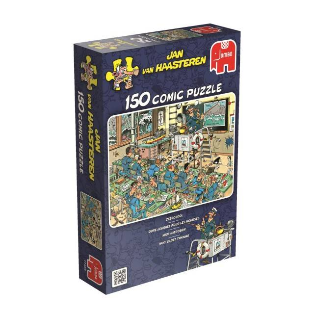 Jan van Haasteren Puzzels Jumbo Jan van Haasteren Zeeschool Legpuzzel 150 stukjes