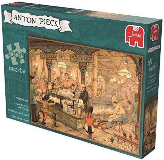 Anton Pieck Puzzels Jumbo Anton Pieck Poffertjeskraam Legpuzzel 1000 stukjes