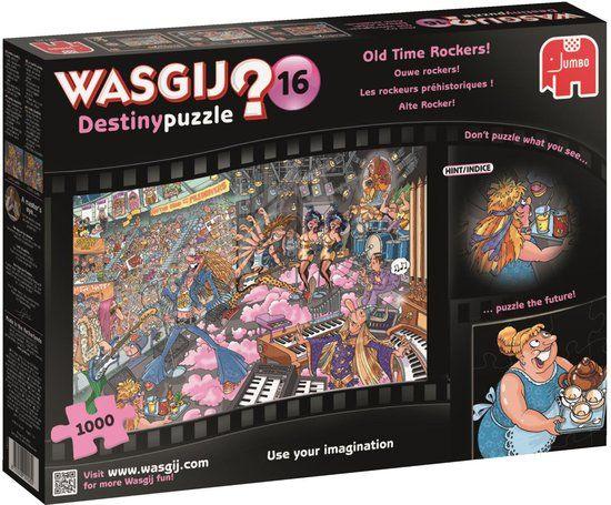 Wasgij? Puzzels Jumbo Wasgij? Destiny 16 Ouwe Rockers! Legpuzzel 1000 stukjes
