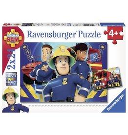 Ravensburger Puzzels Brandweerman Sam Helpt je uit de brand