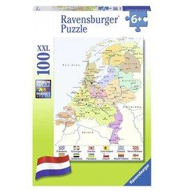 Ravensburger Puzzels Nederland kaart CITO