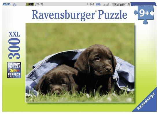 Ravensburger Puzzels Ravensburger Puzzel Labrador Pups XXL 300 stukjes