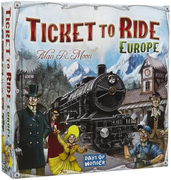 Days of Wonder Ticket To Ride Europe Bordspel