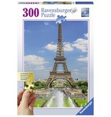 Ravensburger Puzzels Ravensburger Uitzicht op de Eiffeltoren Legpuzzel 300 stukjes