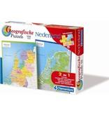 Clementoni Puzzels Clementoni Geographische Legpuzzel Nederland 104 stukjes