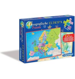 Clementoni Puzzels Geographische Legpuzzel Europa