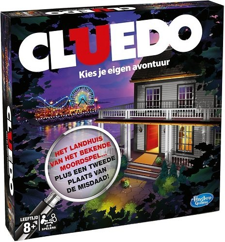 Hasbro Cluedo Refresh Bordspel