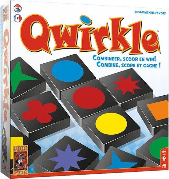 999 Games Qwirkle Familiespel