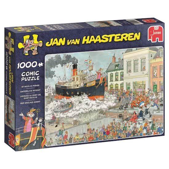 Jan van Haasteren Puzzels Jumbo Jan van Haasteren Sinterklaas Intocht Legpuzzel 1000 stukjes