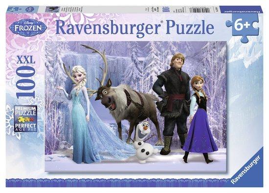 Disney Frozen Ravensburger Puzzels Disney Frozen Ravensburger In het rijk van de Sneeuwkoningin Legpuzzel 100 stukjes