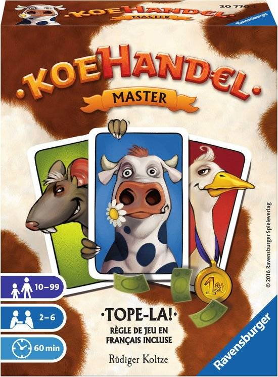 Ravensburger Koehandel Master Kaartspel