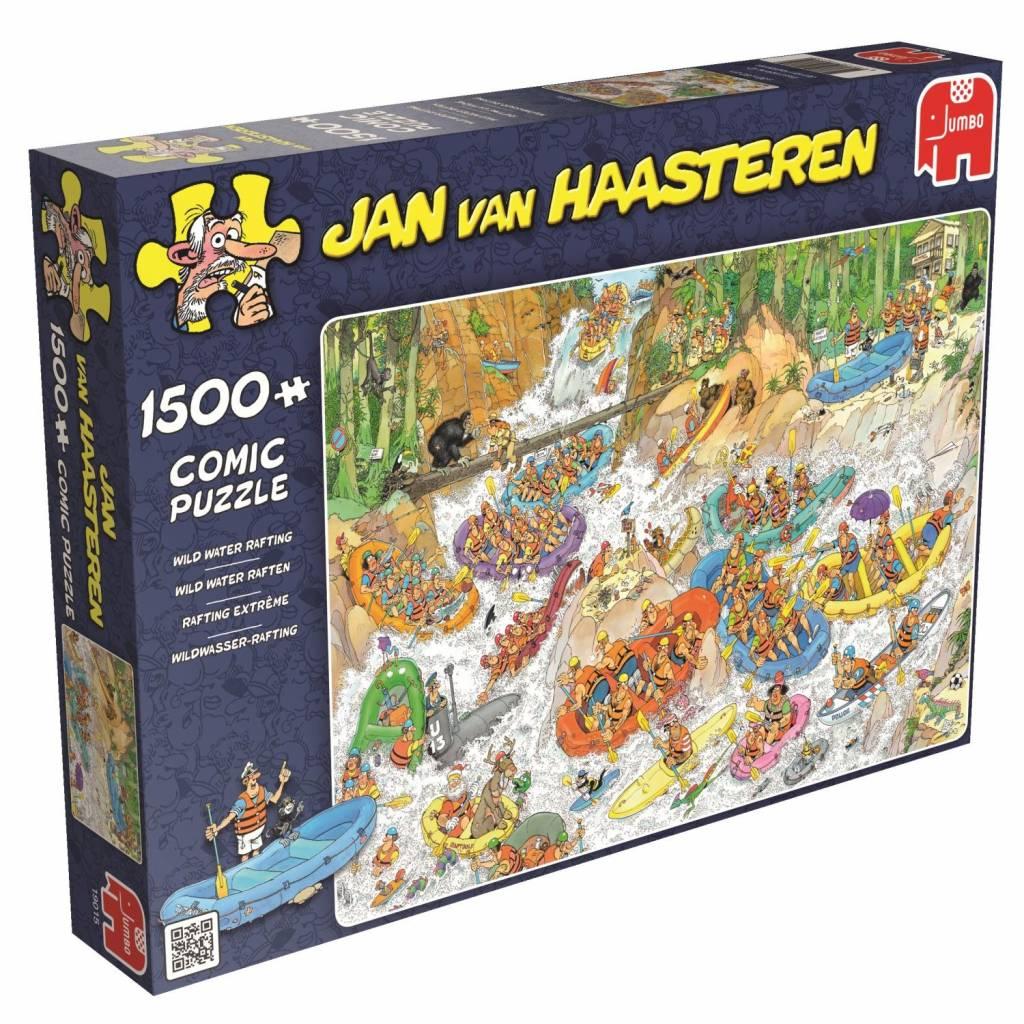 Jan van Haasteren Puzzels Jumbo Jan van Haasteren Wild Water Raften Legpuzzel 1500 stukjes