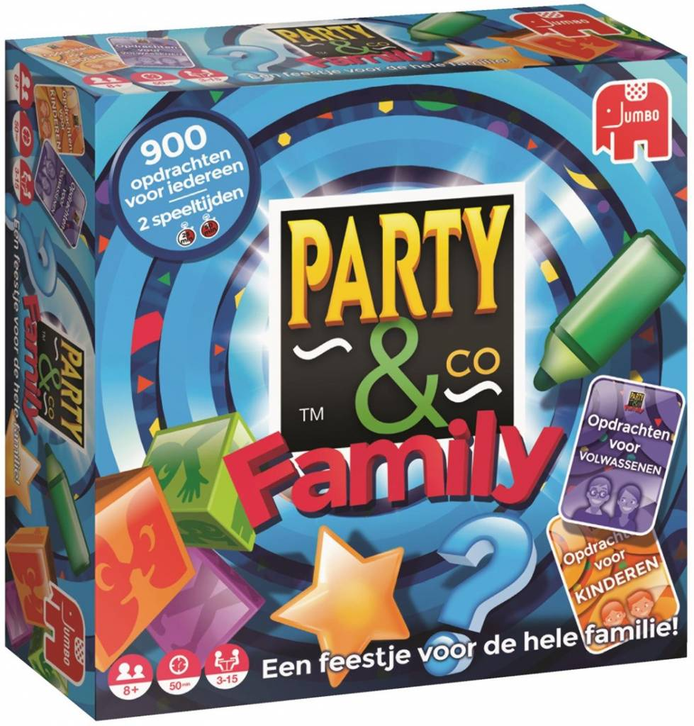 Jumbo Party & Co Family Bordspel
