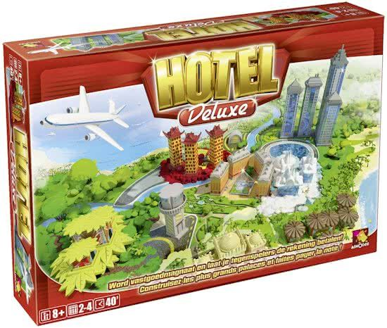 Asmodee Hotel Deluxe Bordspel