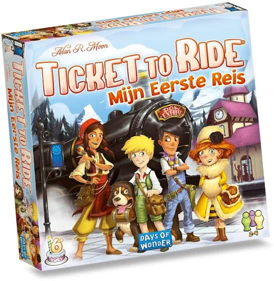 Days of Wonder Ticket to Ride Mijn Eerste Reis Bordspel