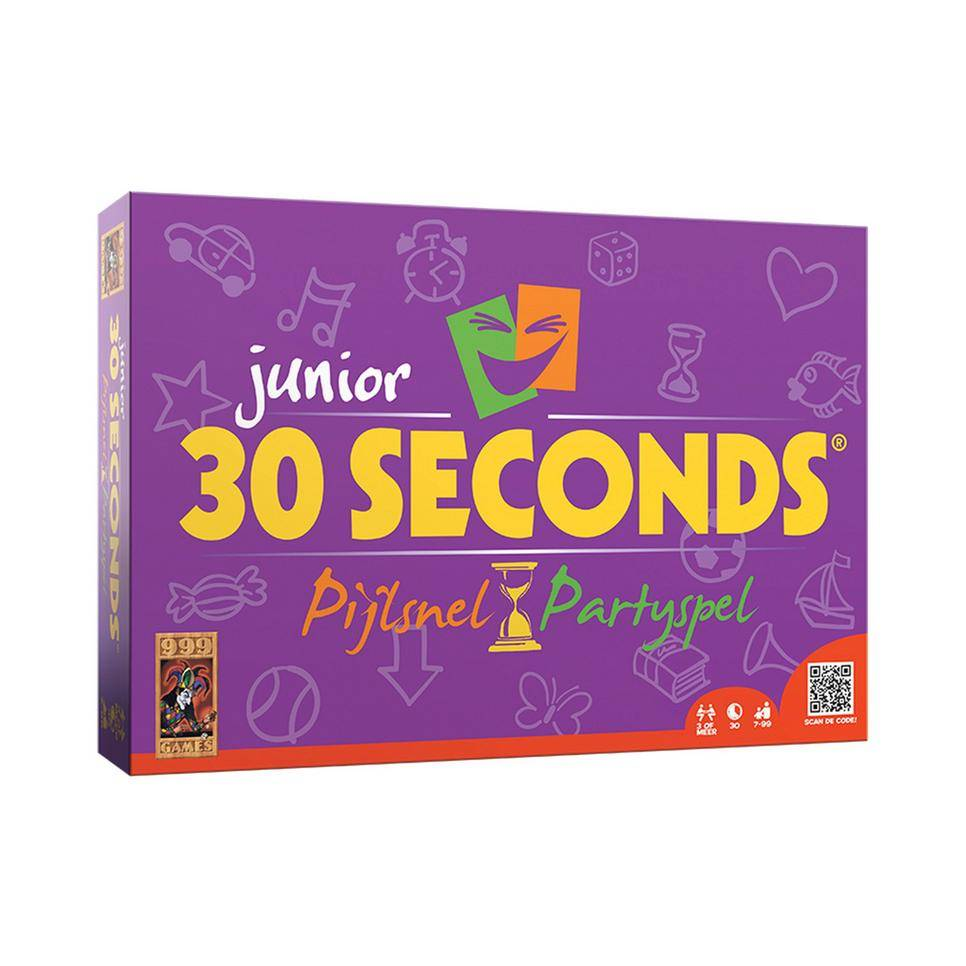 999 Games 30 Seconds Junior Bordspel