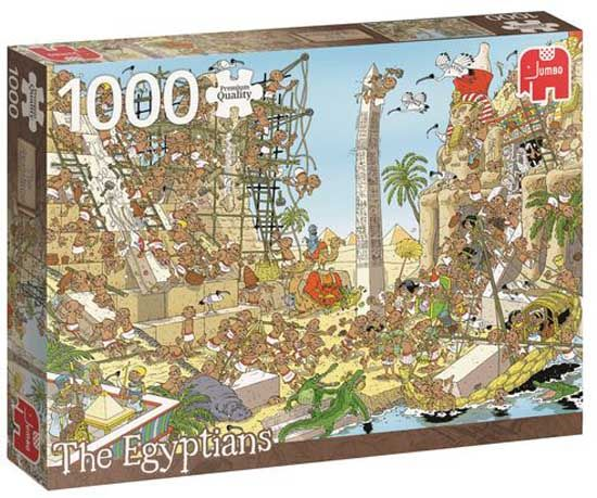 Pieces of History Puzzels Jumbo Pieces of History The Egyptians Legpuzzel 1000 stukjes