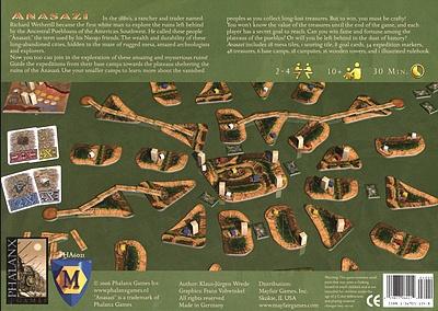 999 Games Anasazi Bordspel