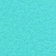 Flachfilz Teppich türkis
