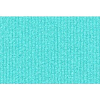 Rips Teppich Standard türkis