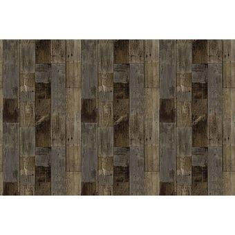 Motivteppich Vintage Holzboden