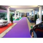Flachfilz-Teppich in mehreren Größen und bis zu 48 Farben.