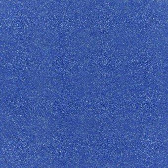 glitzernder Flachfilz, blau
