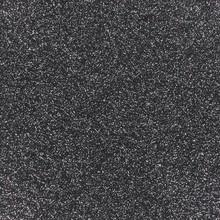 Glitter schwarz-silber