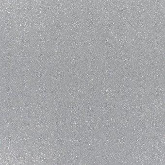 glitzernder Flachfilz, silber