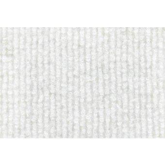 Rips Teppich Standard weiß