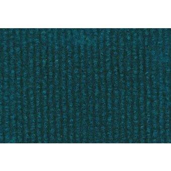 Rips Teppich Standard türkisblau