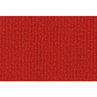 Rips Teppich Standard karminrot