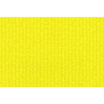 Rips Teppich Standard gelb
